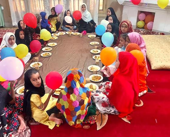 Eröffnungsfeier neue Mädchenschule Jalalabad