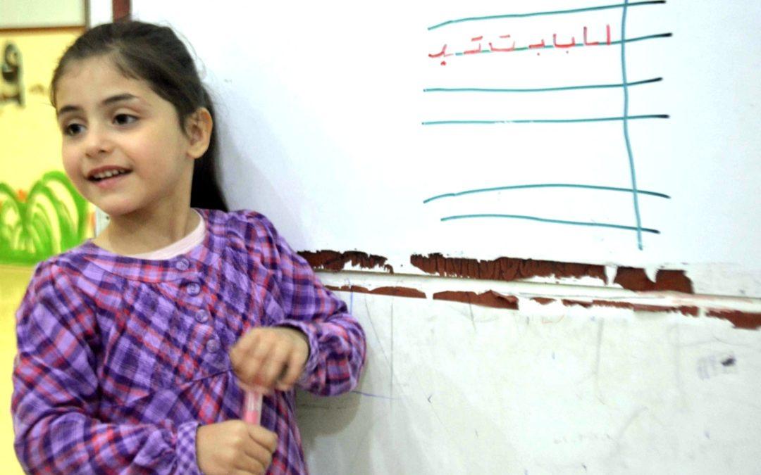 Hilfe durch Chancen auf Bildung