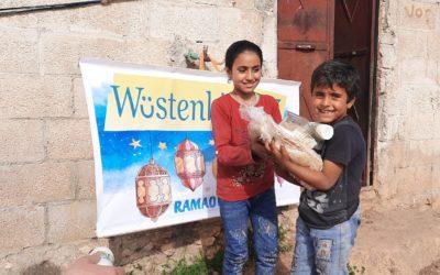Nothilfe im Ramadan — Syrien