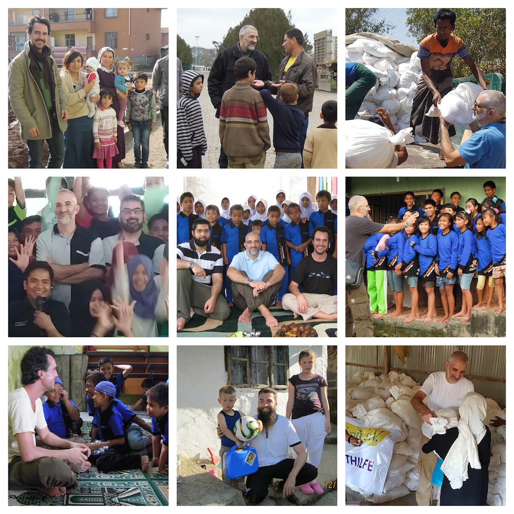 Fotos des Wüstenkind Teams zu Besuch bei den Projekten